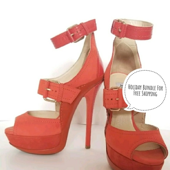 7a0b6c0cc17 Jimmy Choo 36.5 LETITIA Platform Heels